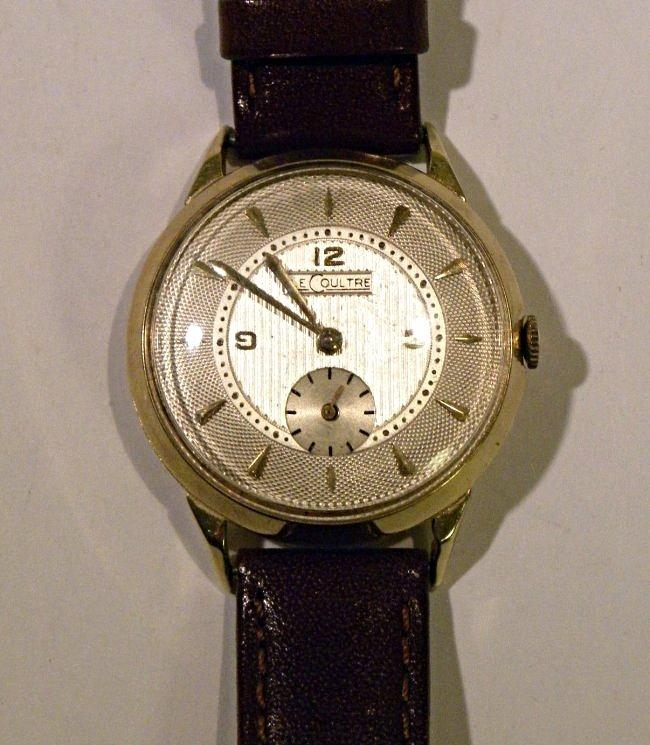 Vintage Mens 14k LeCoultre watch