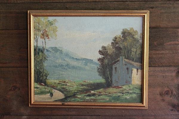 108: Farmhouse landscape - 16x20