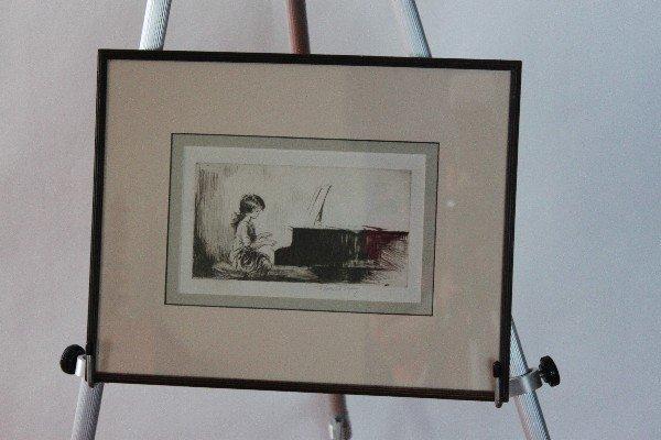 116: Eileen A. Soper (British 1905-1990) etching Girl p