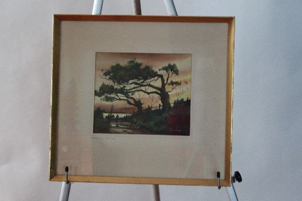 119: John Cuthbert Hare (1908-1978) Old Willows - Cape