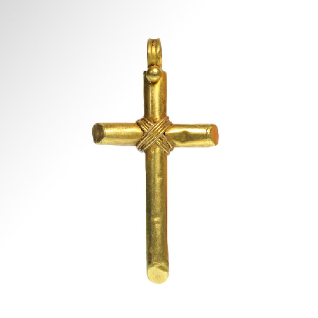 Byzantine Gold Cross, c. 9th-10th Century A.D.
