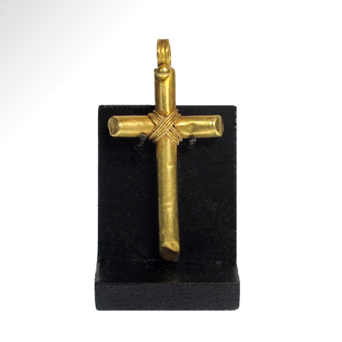 Byzantine Gold Cross, c. 9th-10th Century A.D. - 2