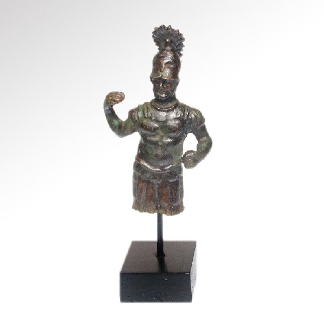 Roman Bronze Figure of Mars, c. 1st-3rd Century A.D. - 2
