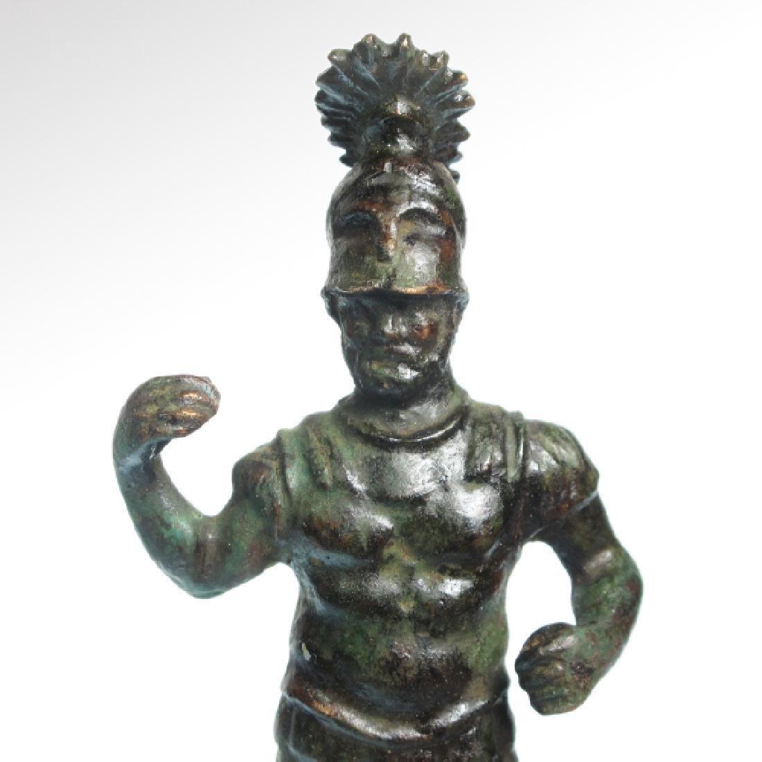Roman Bronze Figure of Mars, c. 1st-3rd Century A.D. - 3