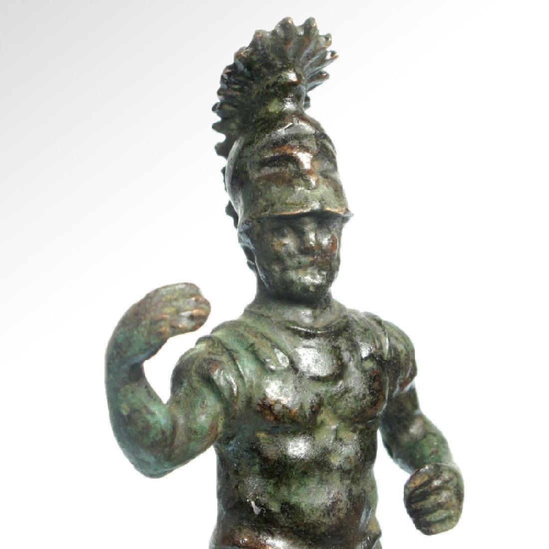 Roman Bronze Figure of Mars, c. 1st-3rd Century A.D. - 4