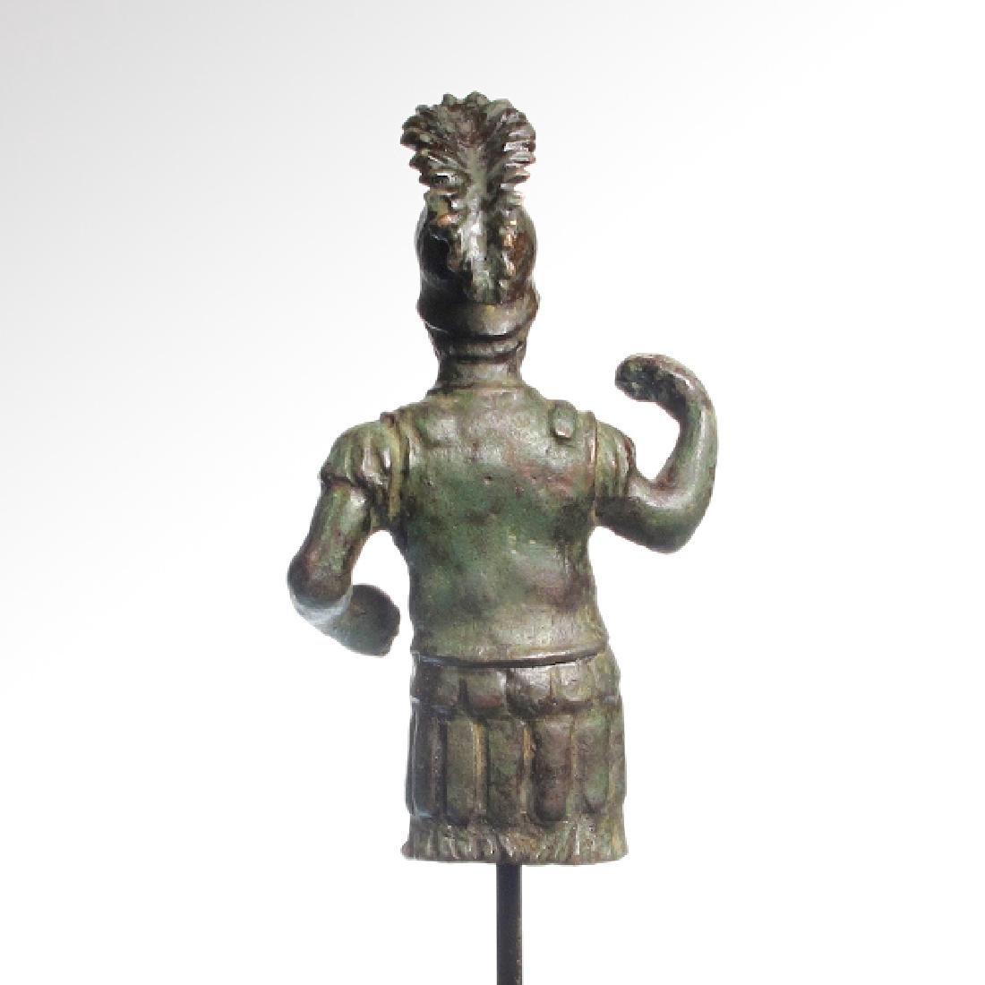 Roman Bronze Figure of Mars, c. 1st-3rd Century A.D. - 7