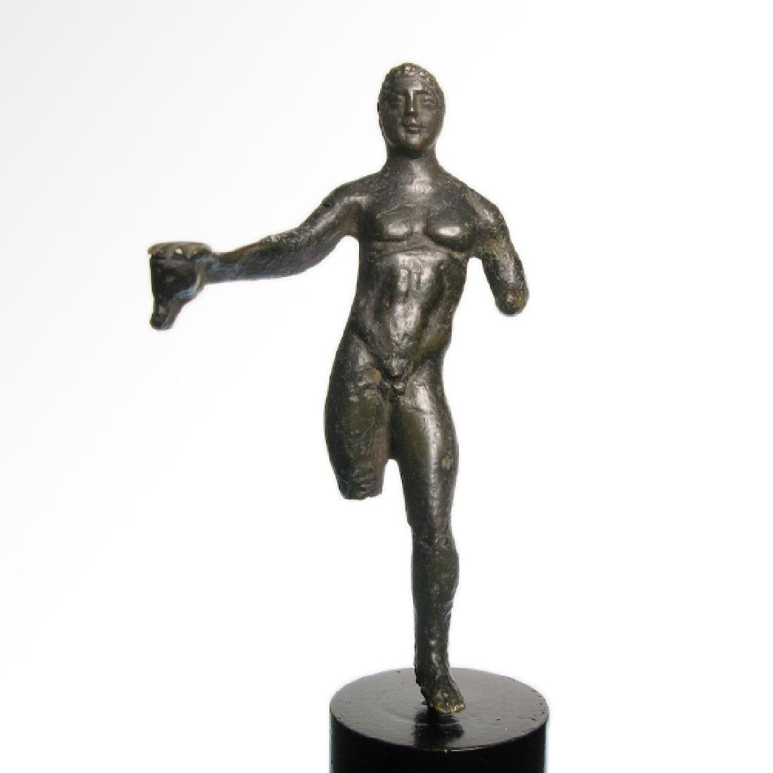 Etruscan Bronze Figure of an Athlete, c. 3rd-2nd