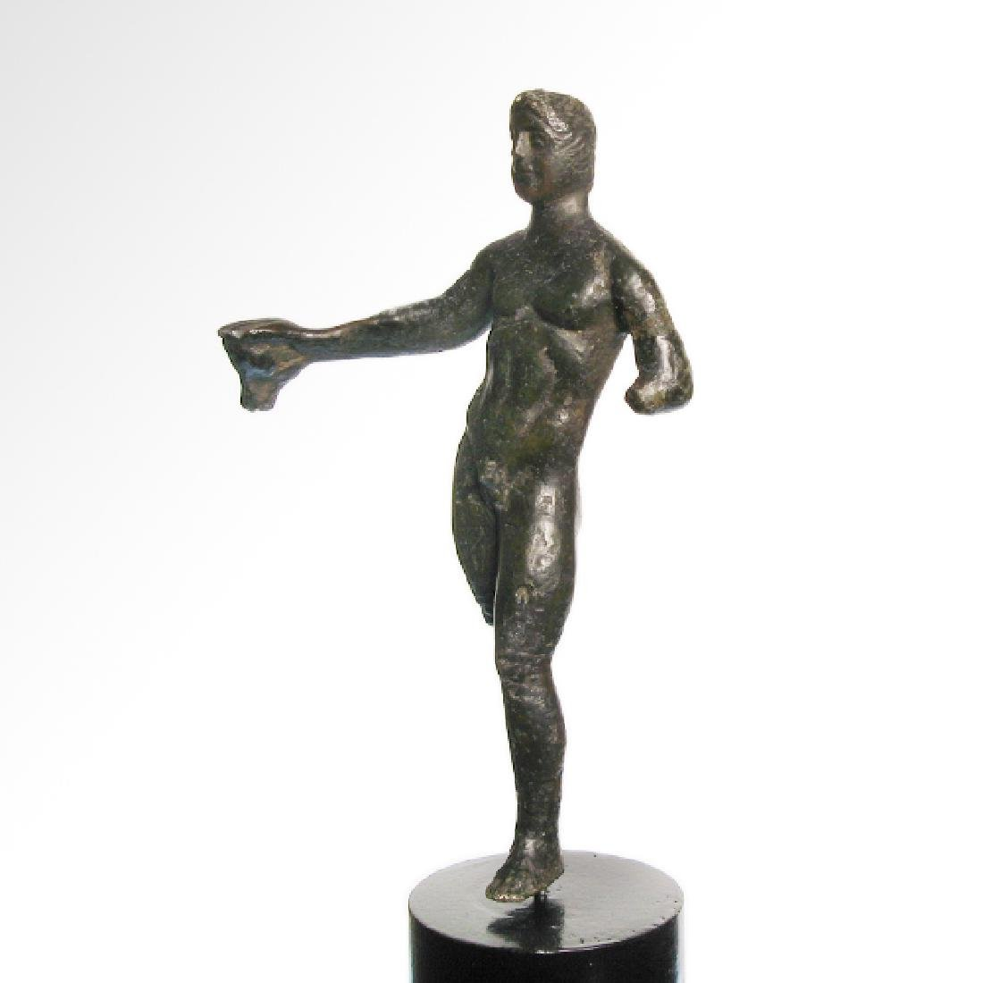 Etruscan Bronze Figure of an Athlete, c. 3rd-2nd - 5