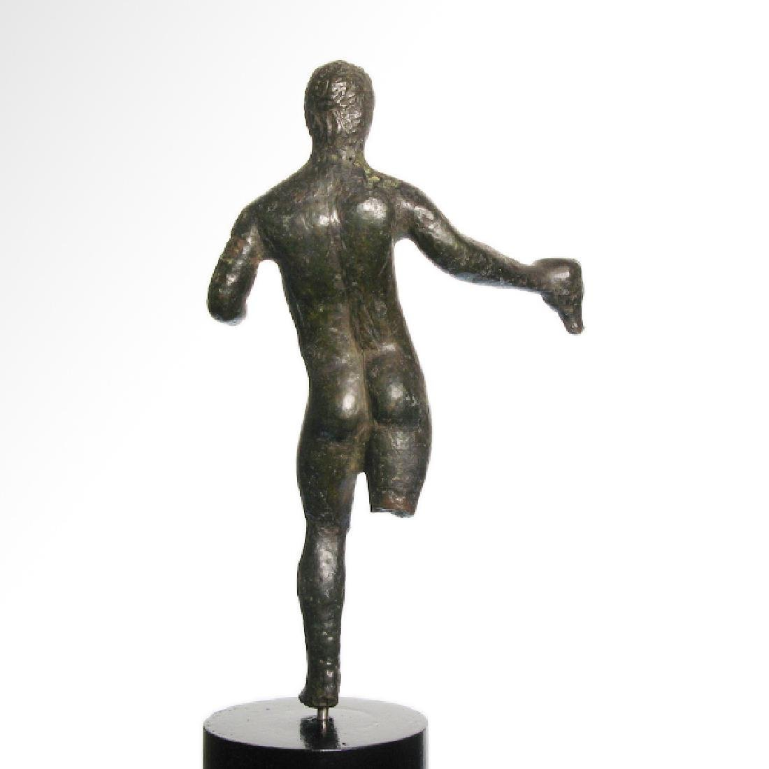 Etruscan Bronze Figure of an Athlete, c. 3rd-2nd - 6