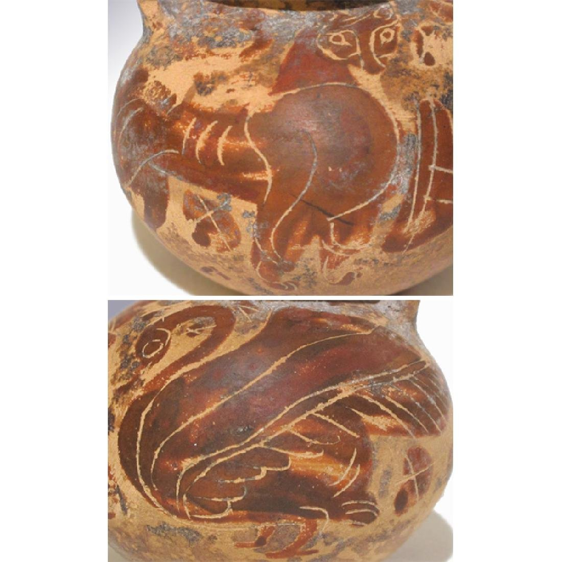 Corinthian Painted Aryballos, 7th- 6th Century B.C. - 4