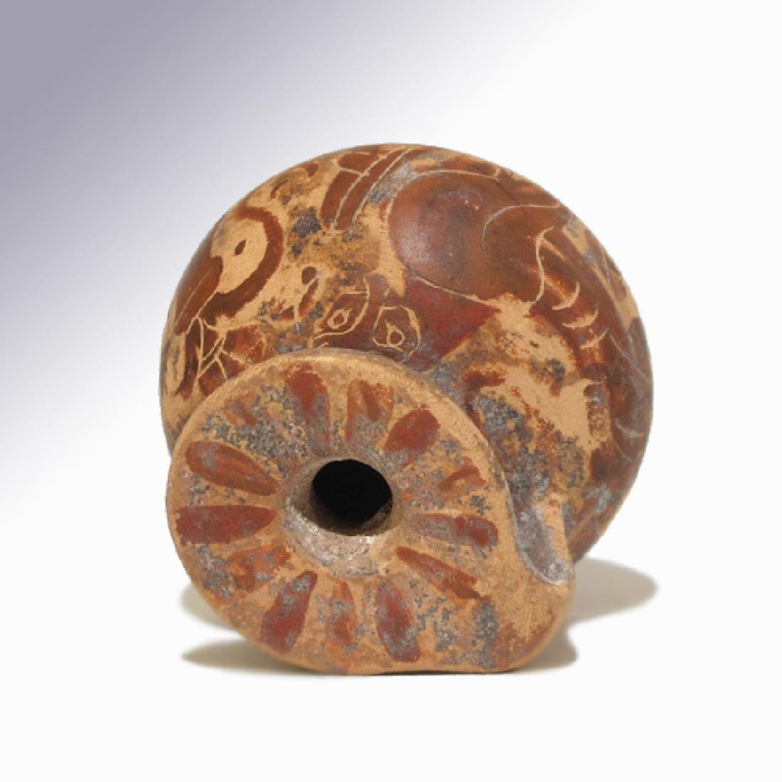 Corinthian Painted Aryballos, 7th- 6th Century B.C. - 6