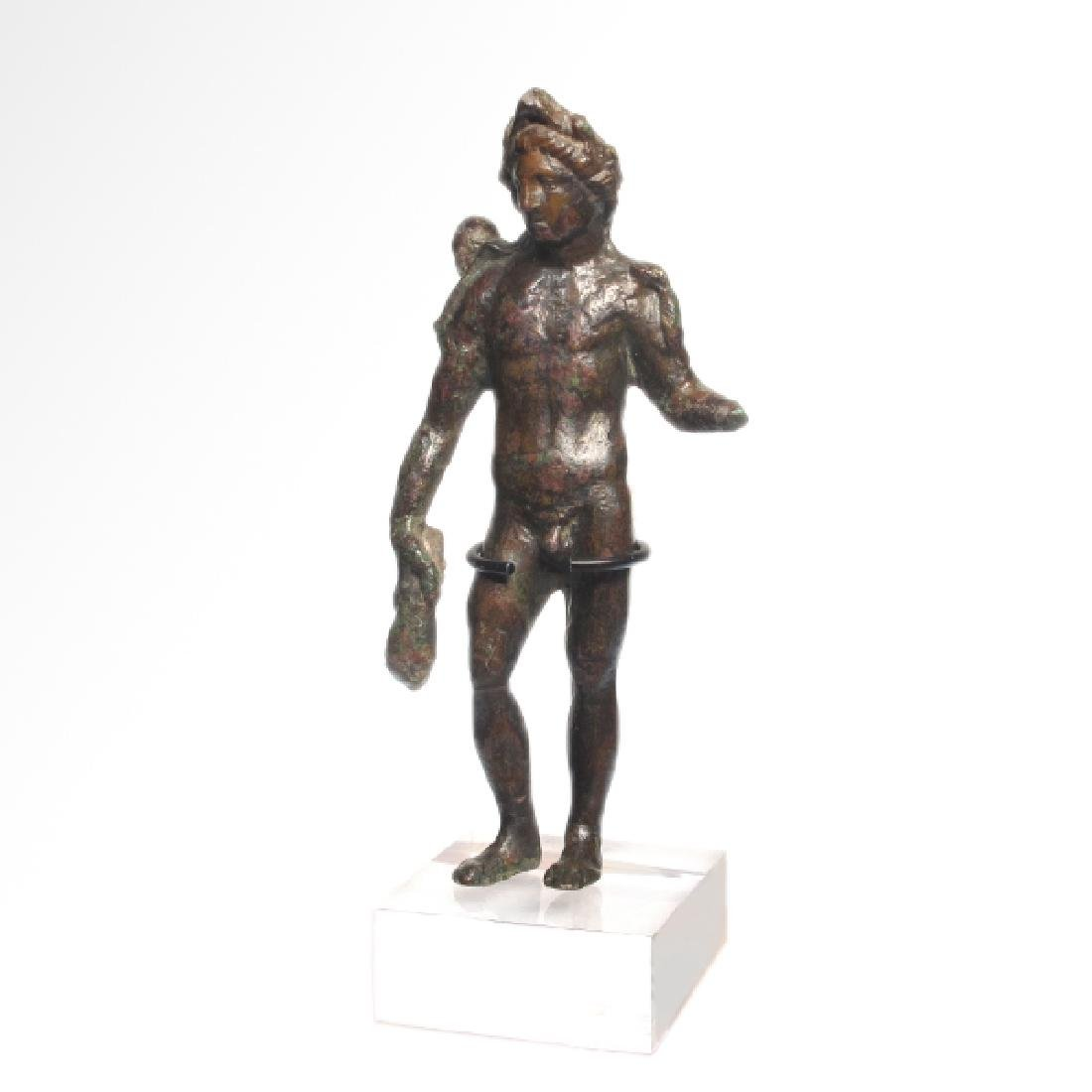 Roman Bronze Figure of Apollo, c. 1st - 2nd Century - 2
