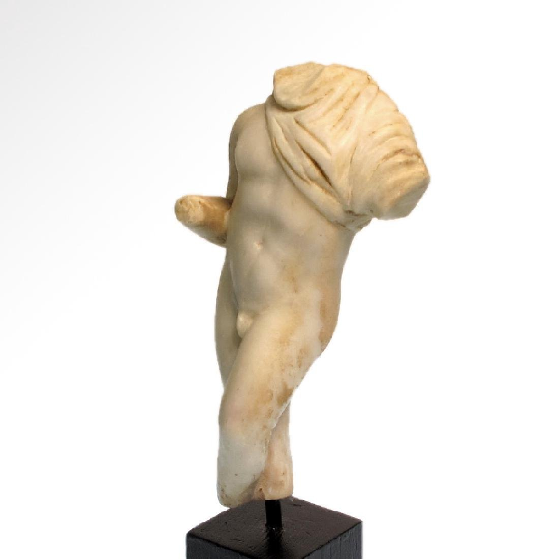 Roman Marble Figure of a Nude Young Man, c. 2nd-3rd - 3