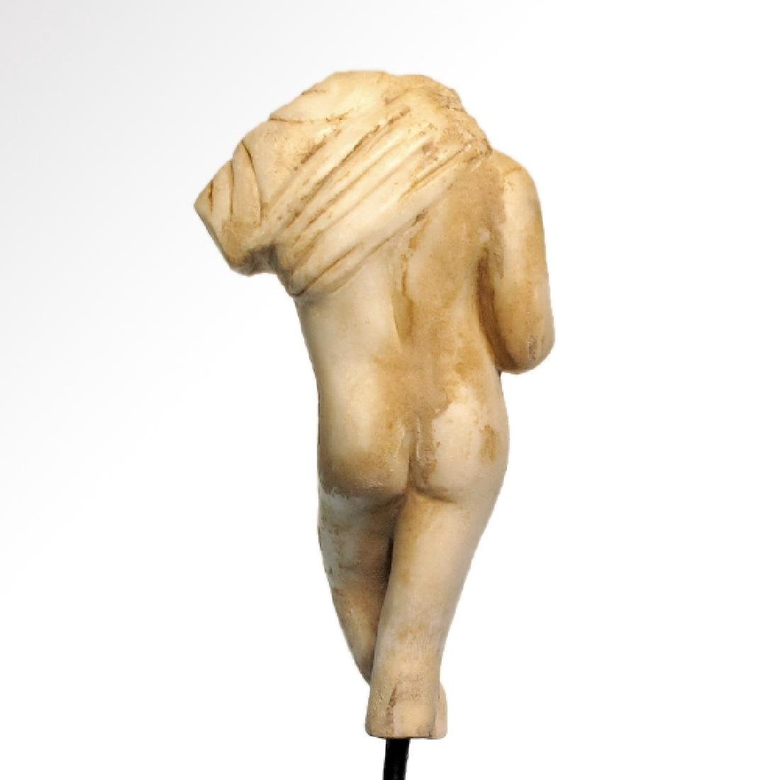Roman Marble Figure of a Nude Young Man, c. 2nd-3rd - 4