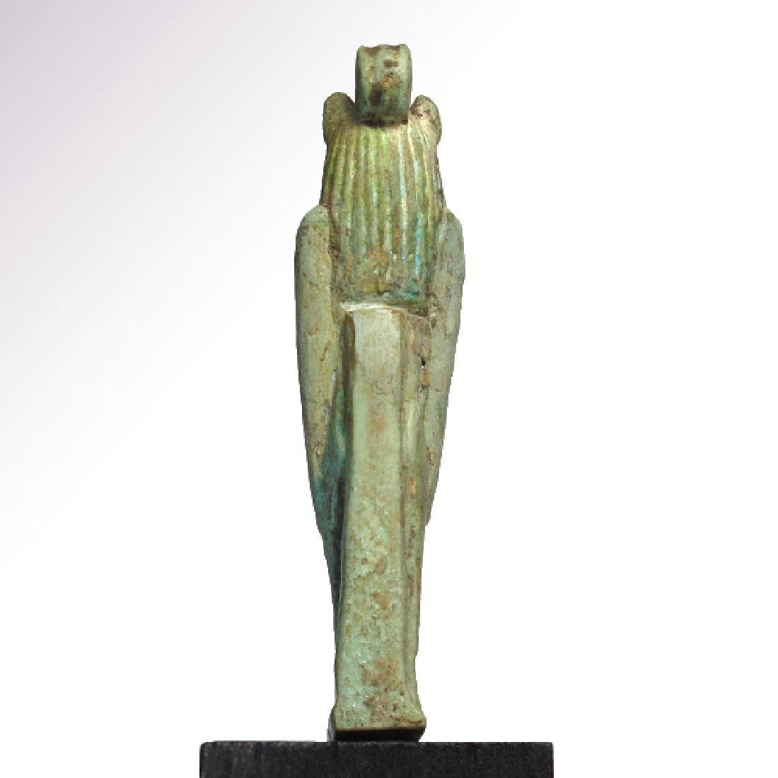 Large Egyptian Faience Amulet of Sekhmet, c. 750 B.C. - 6