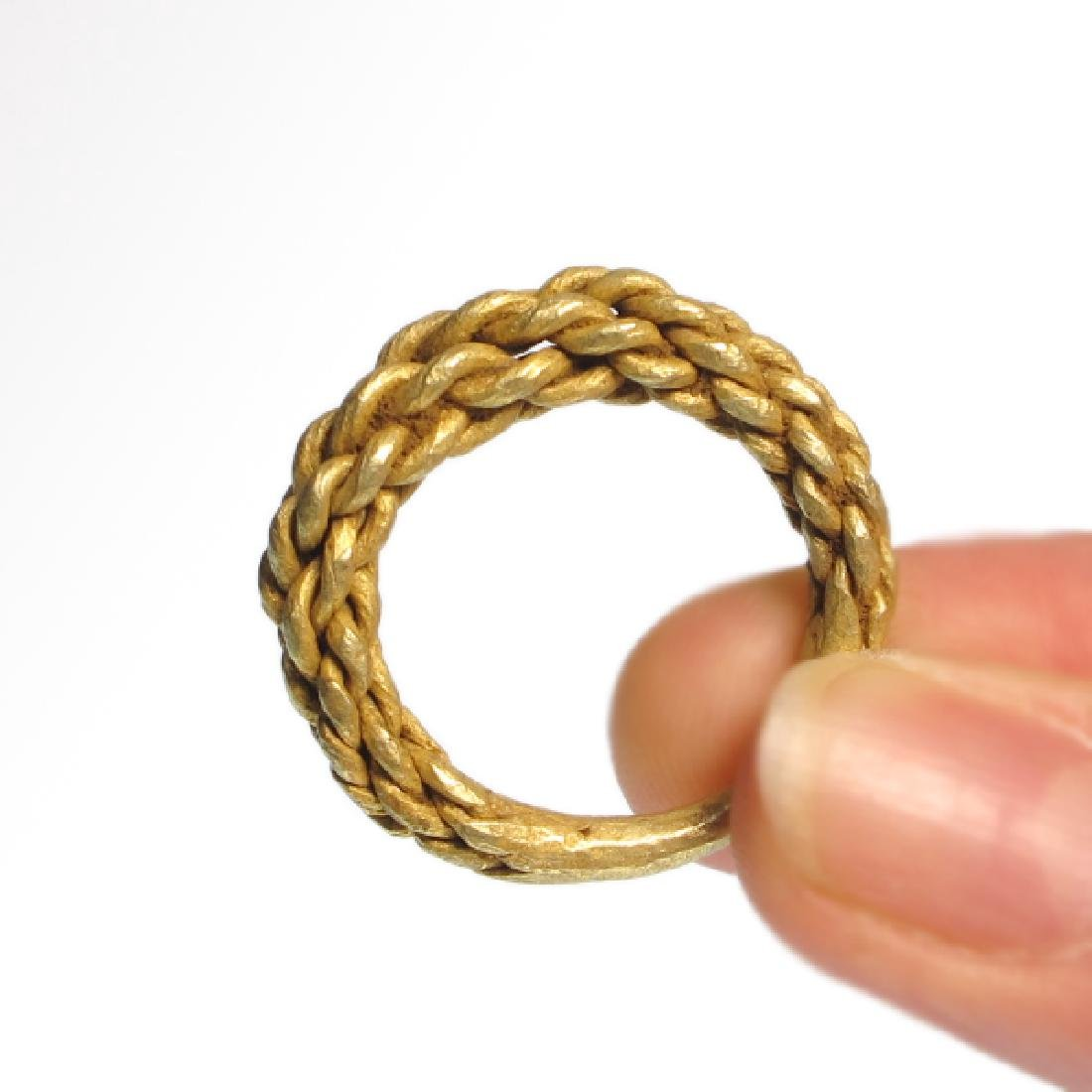 Viking Gold Ring, c. 10th Century A.D. - 2