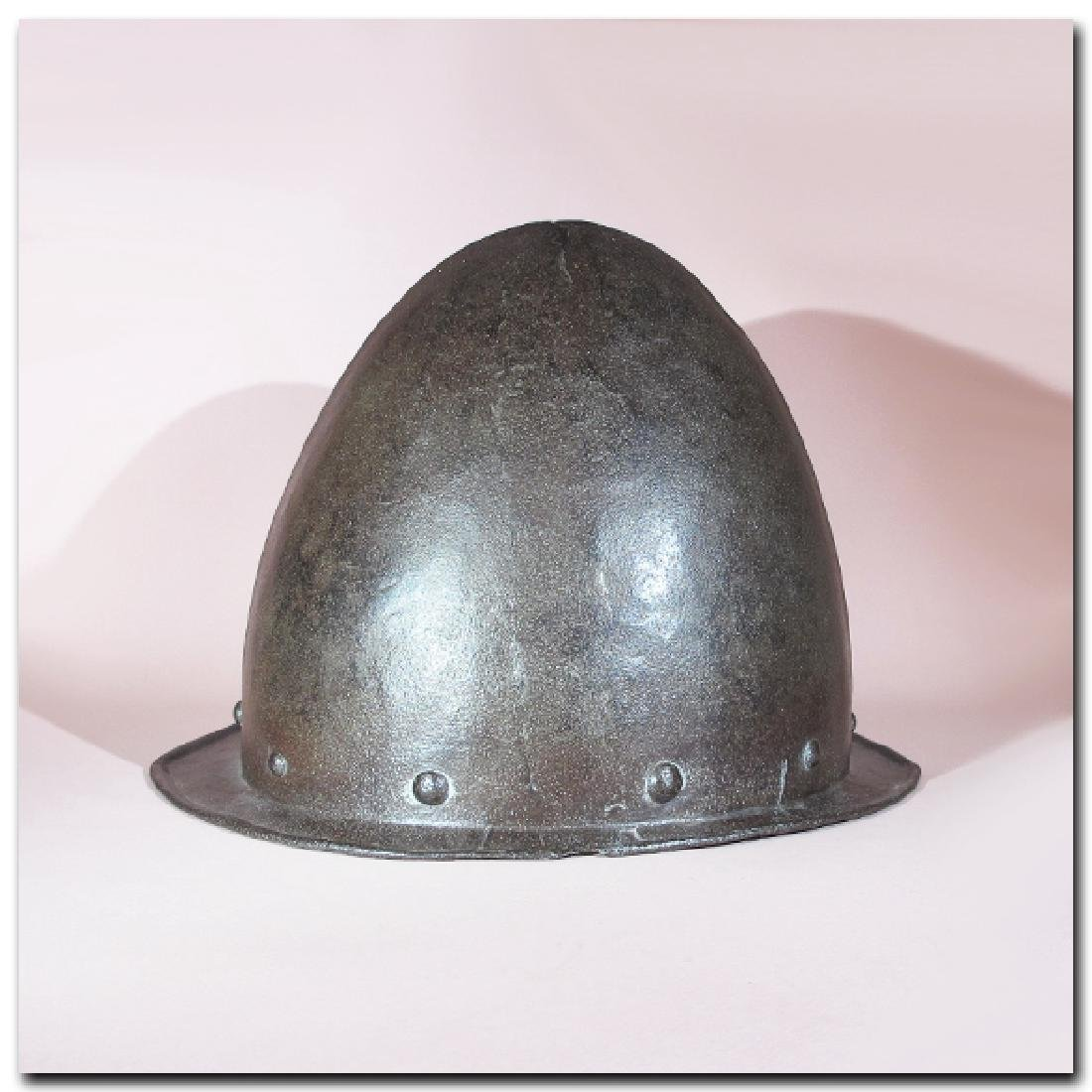 Spanish Steel Cabasset Helmet, 16th Century A.D. - 4
