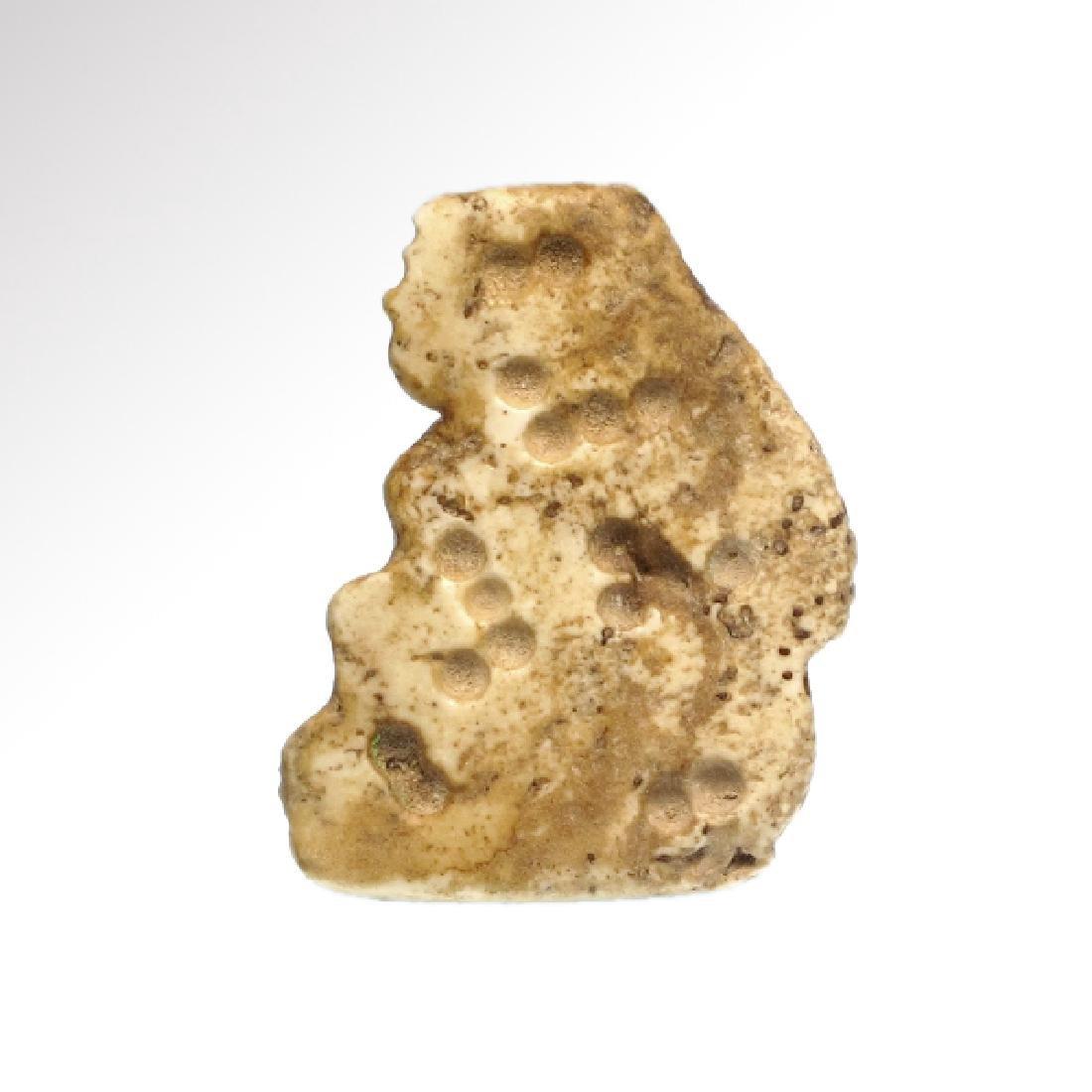 Sumerian Limestone Figure of a Lady Worshipper Seal, c. - 2