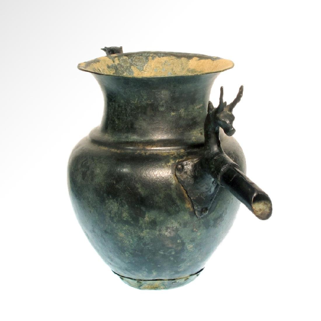 Luristan Bronze Jug with Stags, c. 900 B.C. - 3