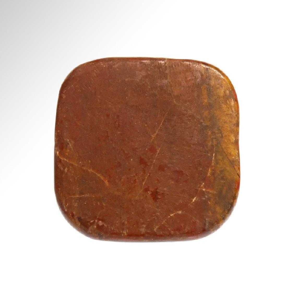 Egyptian Jasper Amulet With Four Eyes of Horus - 5