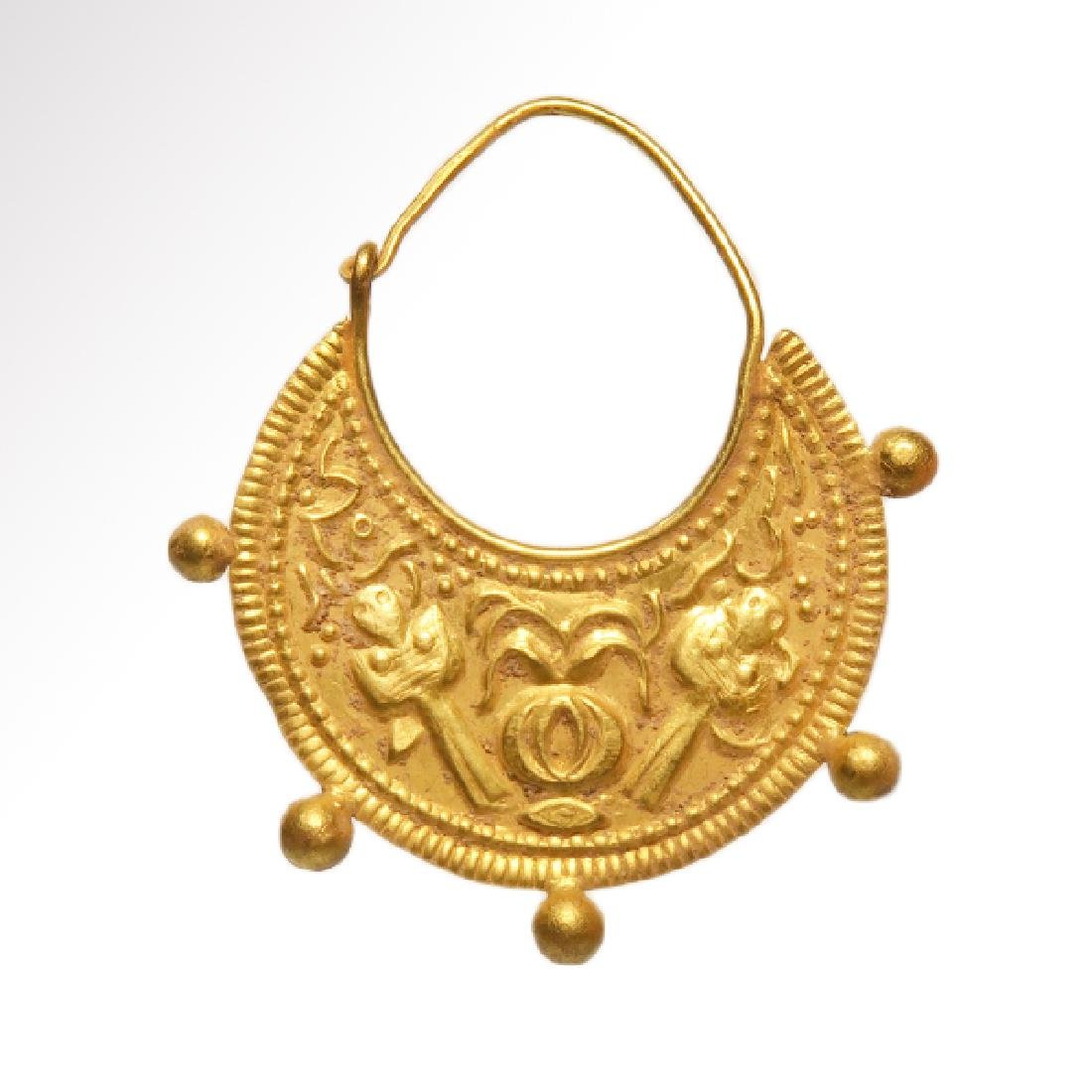 Roman / Early Byzantine Gold Earrings - 2