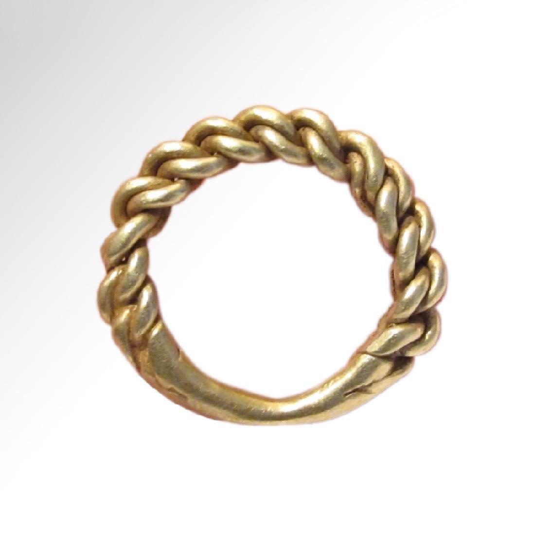 Viking Gold Ring, c. 10th Century A.D.