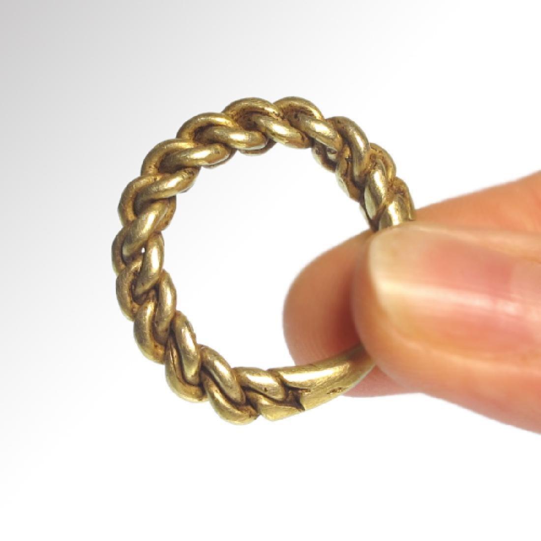 Viking Gold Ring, c. 10th Century A.D. - 2