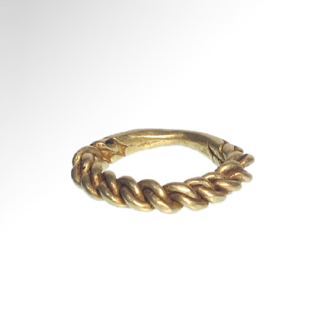 Viking Gold Ring, c. 10th Century A.D. - 3