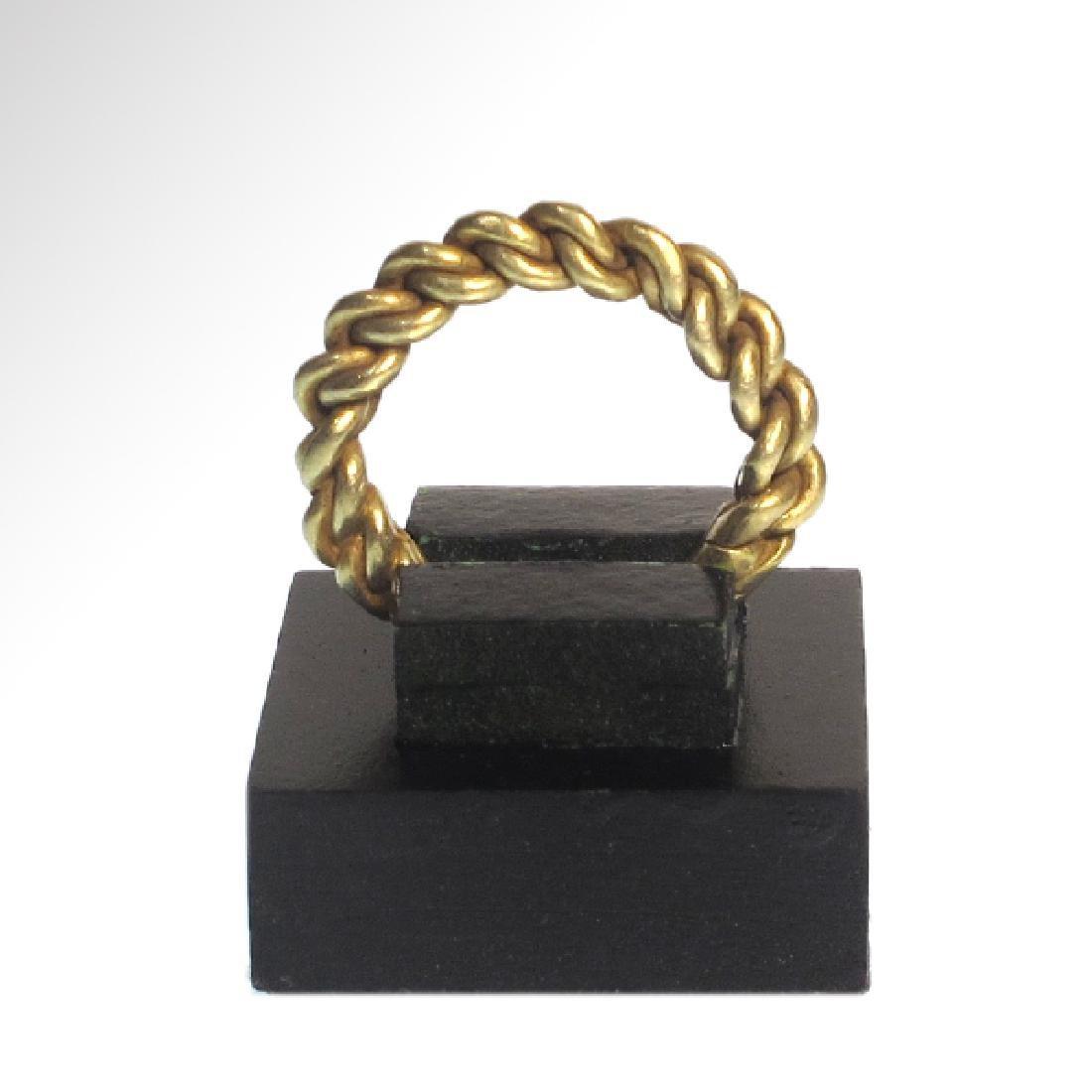 Viking Gold Ring, c. 10th Century A.D. - 4