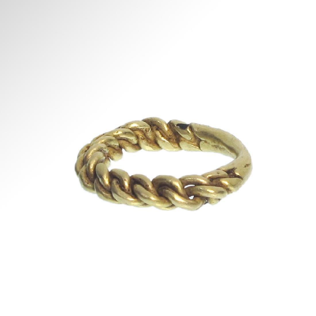 Viking Gold Ring, c. 10th Century A.D. - 5