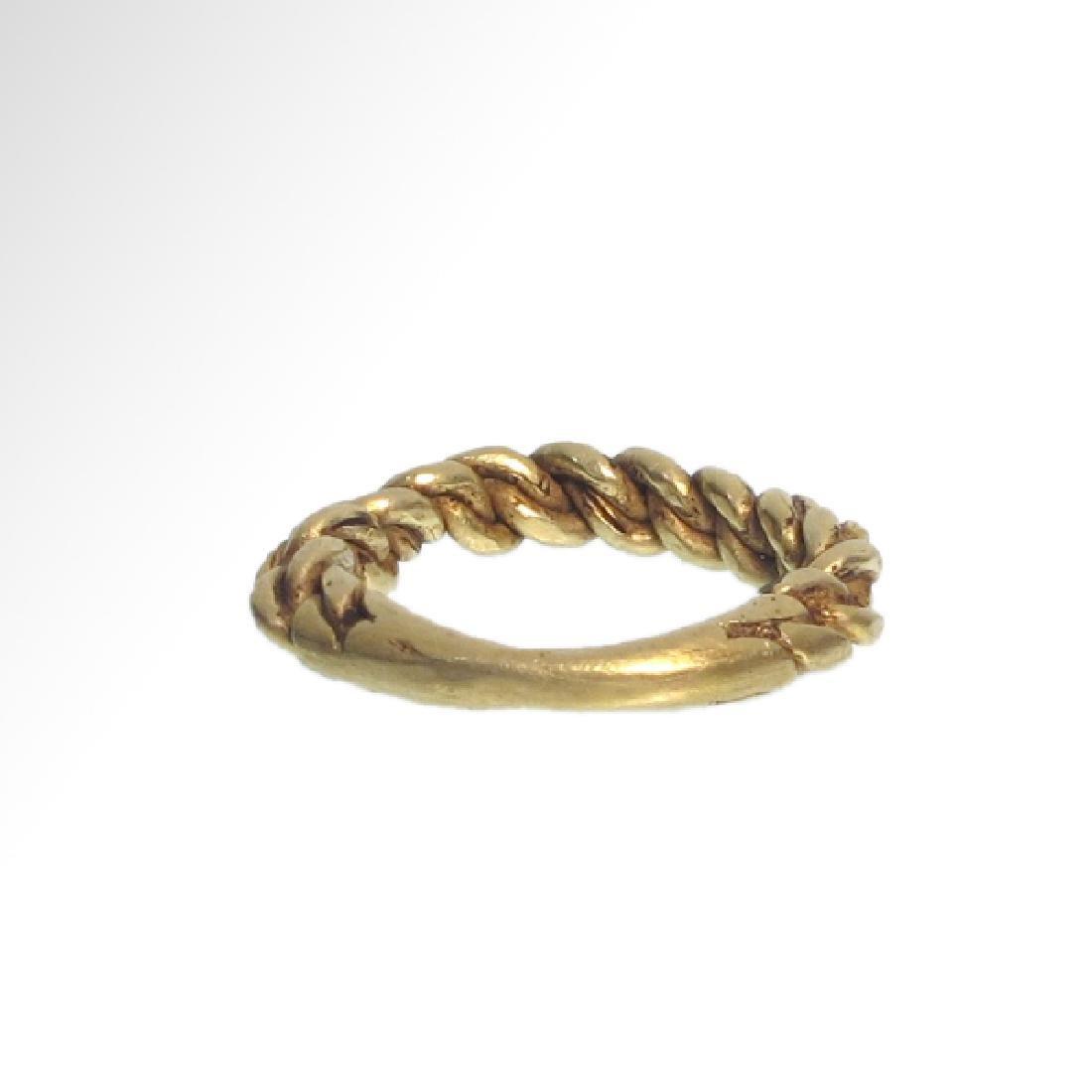 Viking Gold Ring, c. 10th Century A.D. - 7
