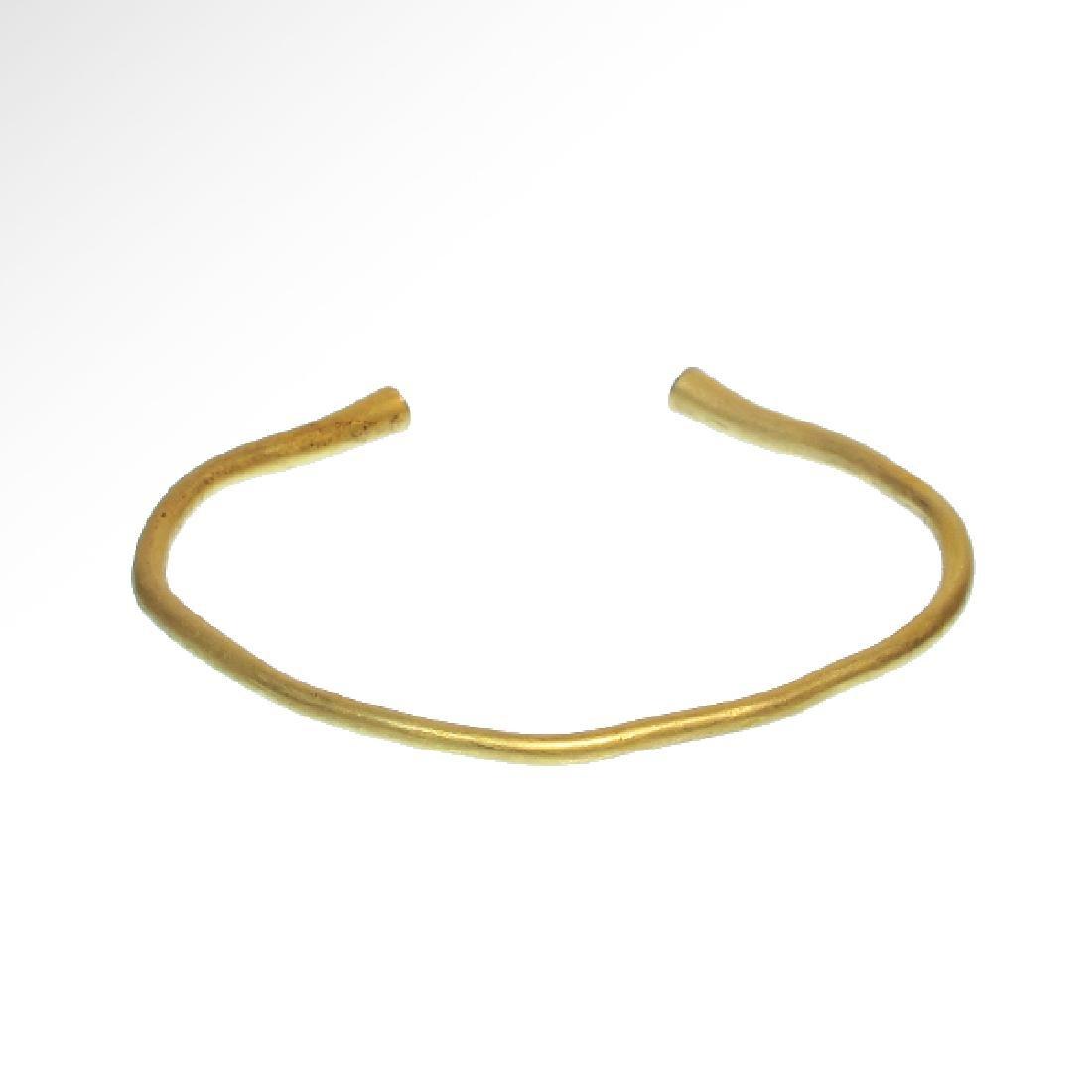 Greek Gold Bracelet, 5th-3rd Century B.C. - 2