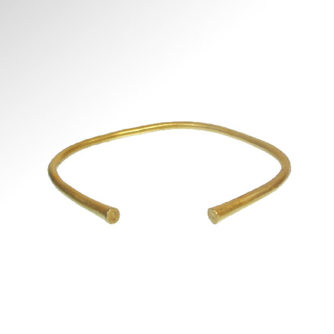 Greek Gold Bracelet, 5th-3rd Century B.C. - 3