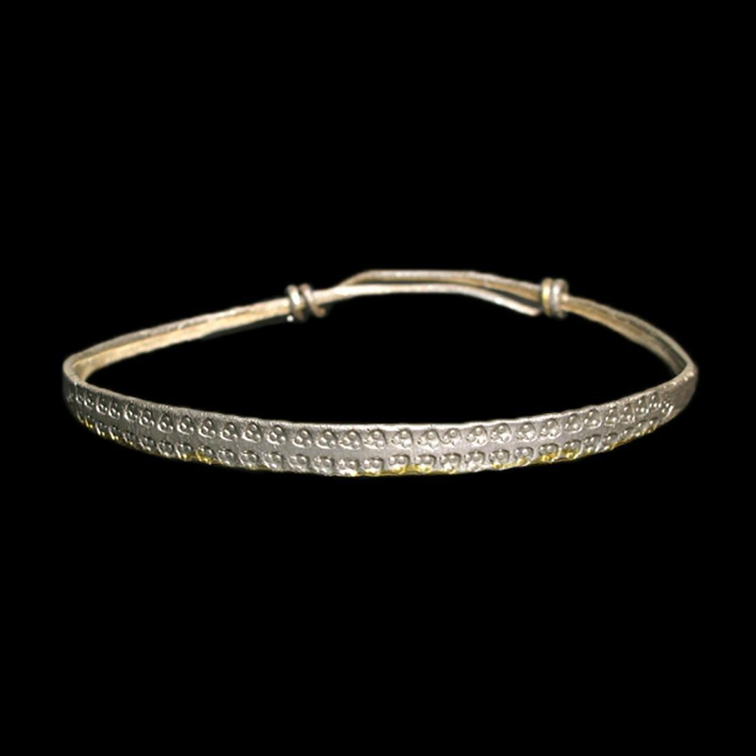 Viking Silver Bracelet, c. 10th - 12th Century A.D.