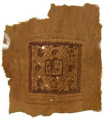 20: Egyptian Coptic Textile, c, 5th-6th century