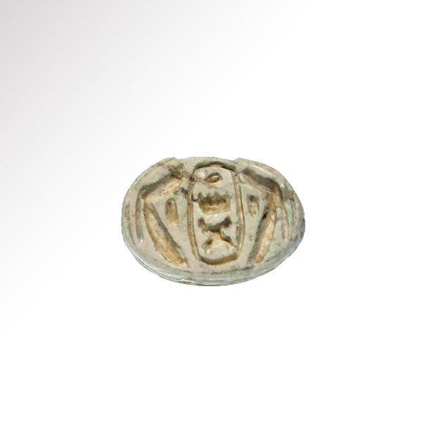Egyptian Scarab with Royal Cartouche, Tuthmosis III