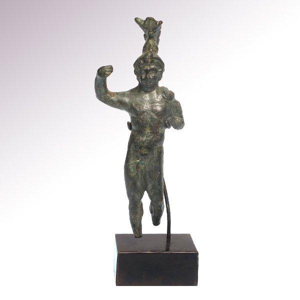 Roman Bronze Figure of Mars, 1st - 2nd Century A.D.