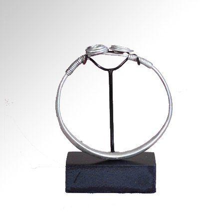 Celtic Silver Coiled Bracelet, c. 200-100 B.C.