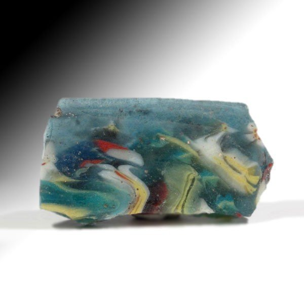 Egyptian Large Mosaic Glass Fragment, c. 2nd century - 4