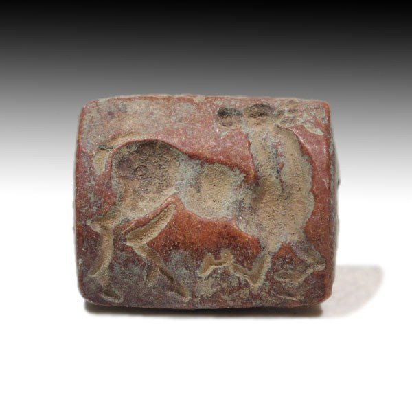 Steatite Bactrian Seal with Bactrian Camel,c. 1500 BC - 2
