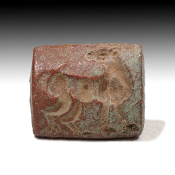 Steatite Bactrian Seal with Bactrian Camel,c. 1500 BC - 3