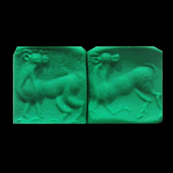 Steatite Bactrian Seal with Bactrian Camel,c. 1500 BC - 4