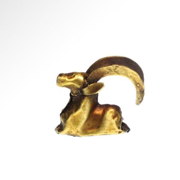 Luristan Hollow Gold Ram, c. 1100 B.C. - 3