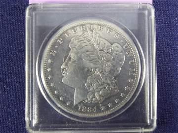"""1884 """"O"""" Morgan Dollar"""