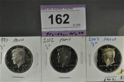3 Kennedy Proof Halves