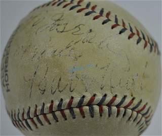 Babe Ruth Single Autograph Baseball