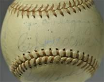 Brooklyn Dodgers Autographed Baseball