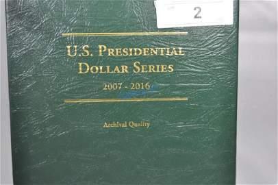 U.S. Presidential Dollars (24)