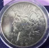 """1922 """"D"""" Peace Dollar"""