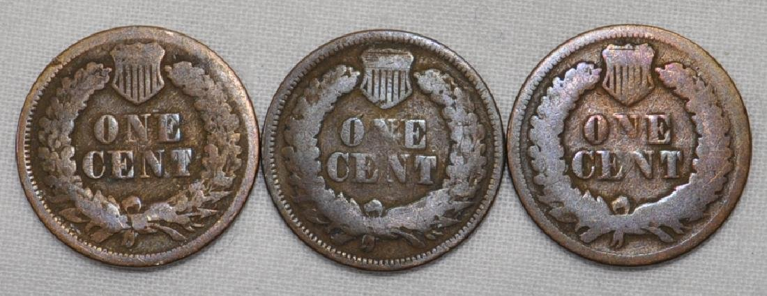 1866 / 1867 / 1868 Indian Head Cents - 2